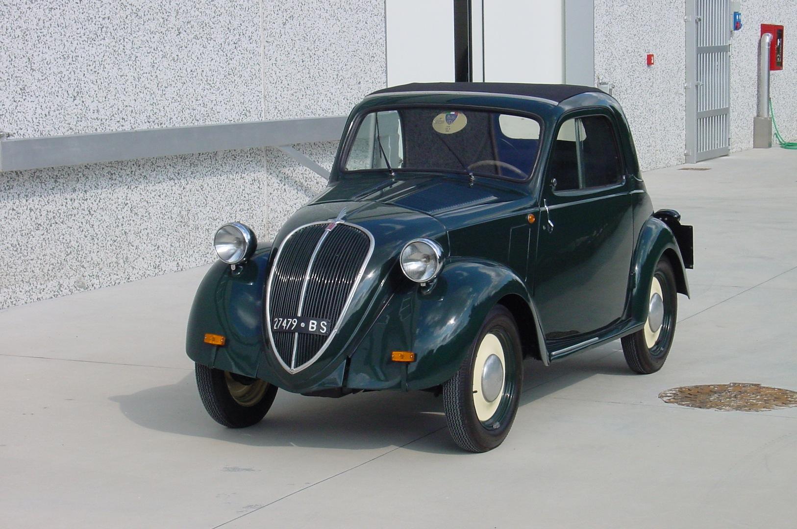 bresciacar auto classiche - fiat 500 b trasformabile anno 1948