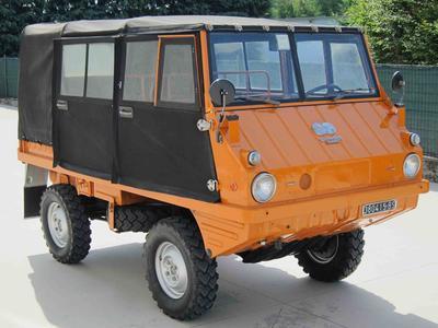 Bresciacar Classic Cars Steyr Puch Haflinger 700 Ap Year 1972